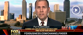 FoxNews's David Asman Talks to Pat Huddleston